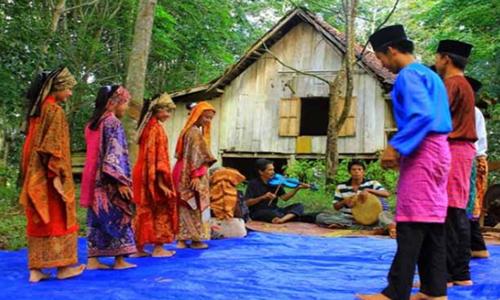 tarian tradisional jambi