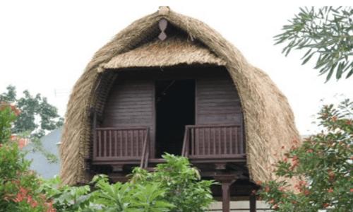 struktur rumah adat bali
