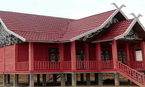 gambar rumah adat Jambi