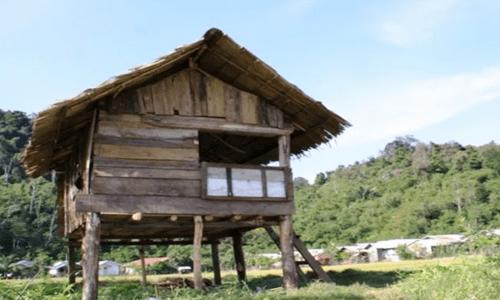 rumah adat aceh dan keterangannya