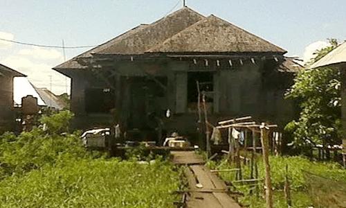 keunikan rumah adat Kalimantan Selatan