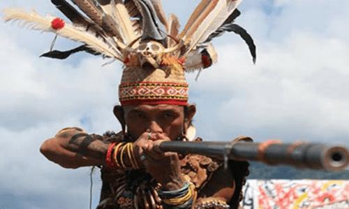 senjata tradisional kalimantan