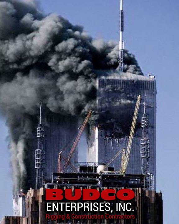 BUDCO Derricks 9/11 Twin Towers