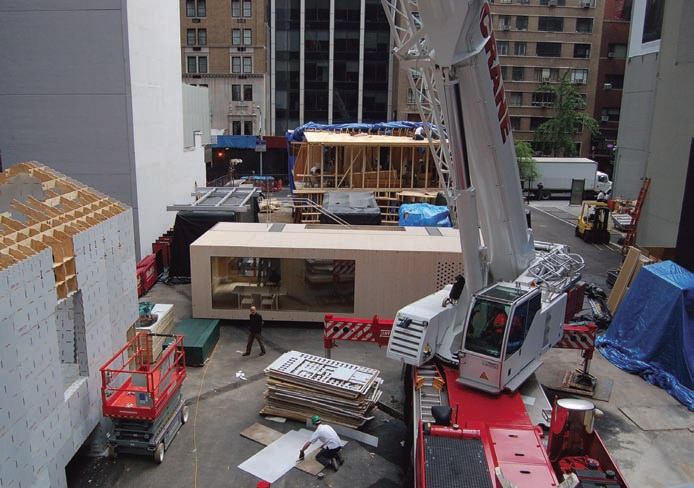 Picture of the Museum of Modern Art's Home Delivery Installa