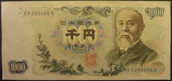 千円札の伊藤博文