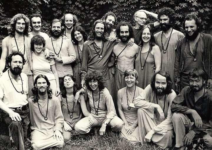 Osho Ashram 1979... P.I. trainin