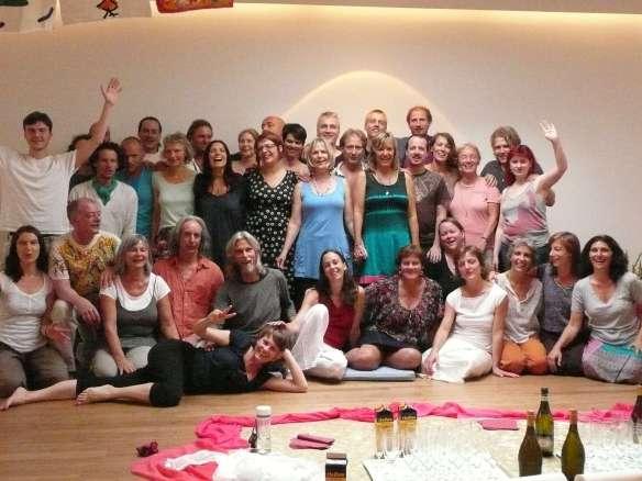Graduation Day, july 2012... 2 Year ARUN Conscious Touch Training @ Osho UTA, Koln. We love all you guys