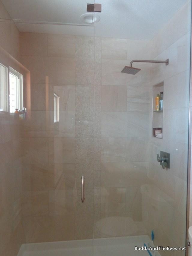 New shower in master bath