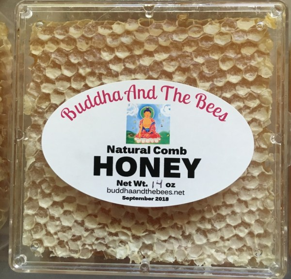 Buddha And The Bees Comb Honey