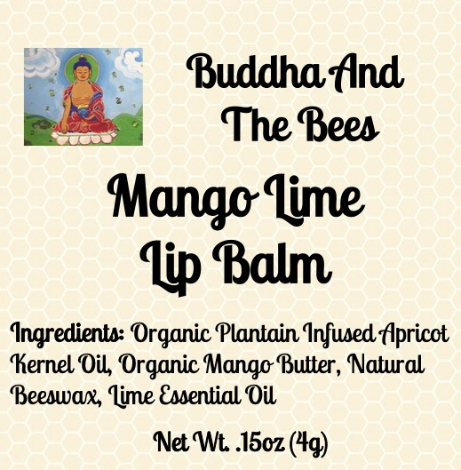 Buddha And The Bees Mango Lime Lip Balm Ingredients
