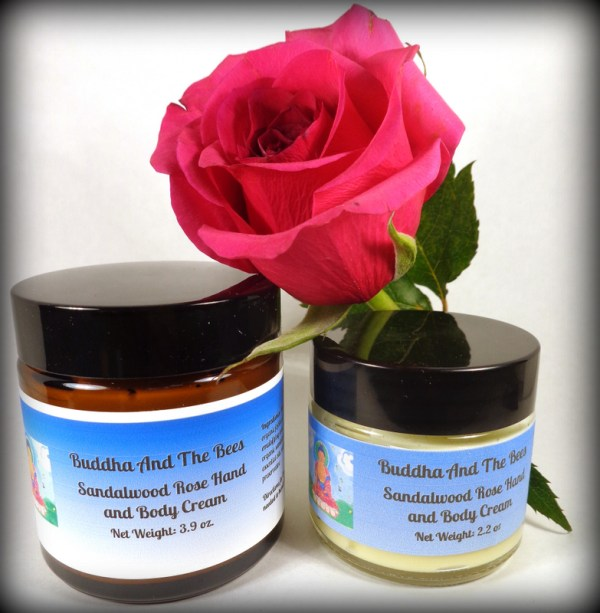 Buddha And The Bees Personal Care Sandalwood Rose Hand and Body Cream