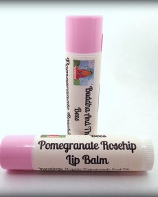 Buddha And The Bees Pomegranate Rosehip Lip Balm