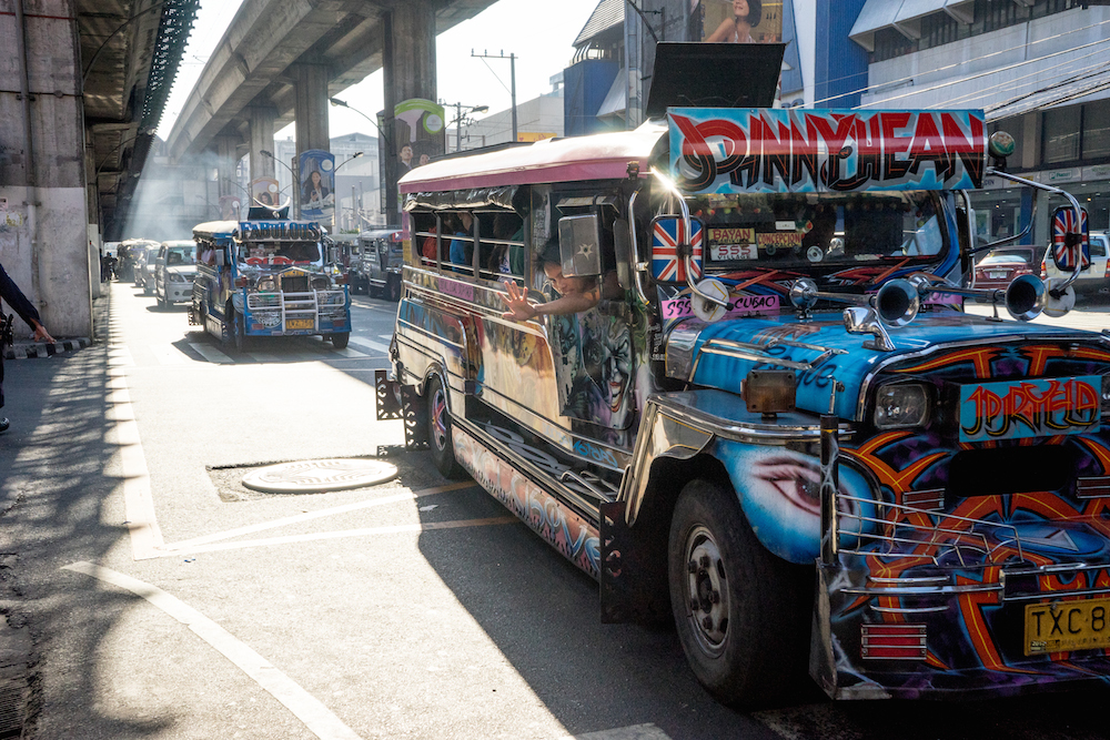 Jeepneys-Manila-Cubao-traffic-travel-philippines-vintage-buddha-drinks-fanta-jenny-adams-04166