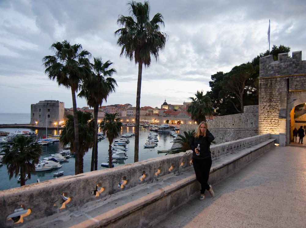 Pile-gate-tourist-Dubrovnik-Croatia-Old-Town-walls-fort-kayaks-pile-gate-balkans-travel-food-jenny-adams-buddha-drinks-fanta-game-of-thrones