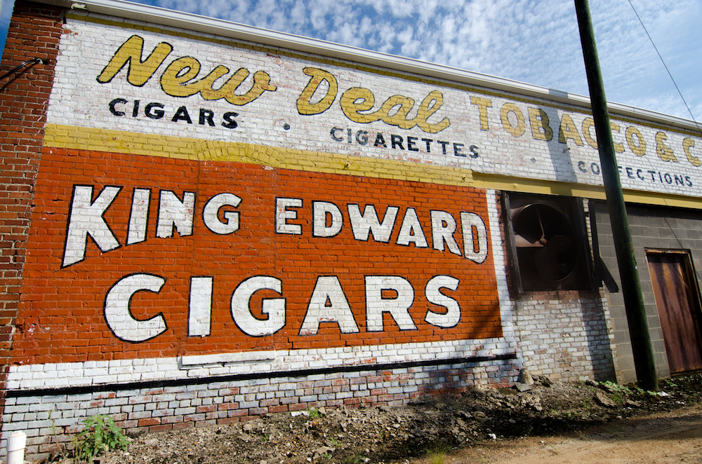 Roadside sign, Greenwood, Mississippi, photo by Jenny Adams-5370