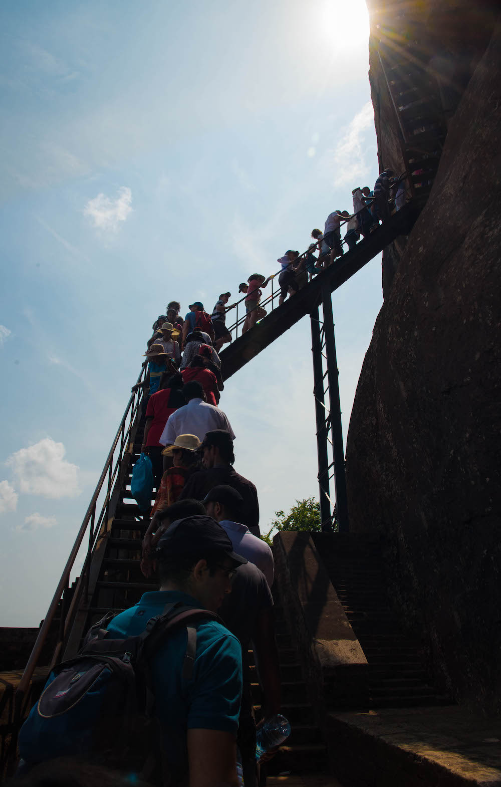 sigiriya-lion-rock-staircase-climb-difficulty-buddhist-shrine-claws-travel-asia-sri-lanka-buddha-drinks-fanta-jenny-adams