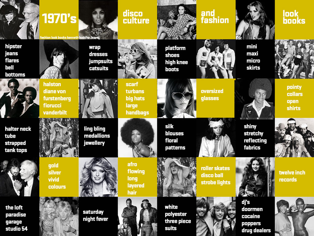 1970s New York underground, disco, youth culture and fashion look books Kenneth buddha Jeans