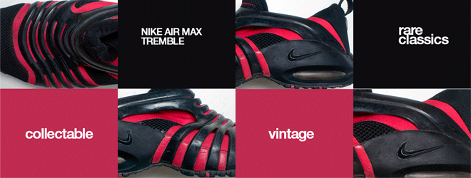 Nike Air Max Tremble Black-True Red Vintage