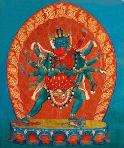 Naked wisdom for degenerate times: Vajrayogini, enlightened