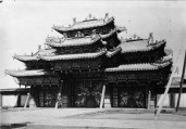 Images of monasteries in Mongolia (most of them destroyed in 1930s).