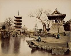 Buddhist Temple, Japan 1865