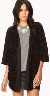 similar to a Forever 21 silk kimono, $6