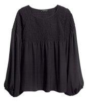 chiffon blouse, $10