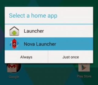 hide apps on android in nova launcher - screenshot
