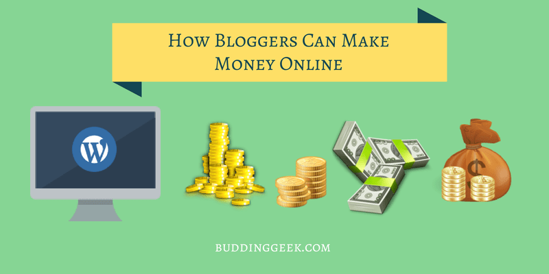 How Bloggers Can Make Money Online - Poster