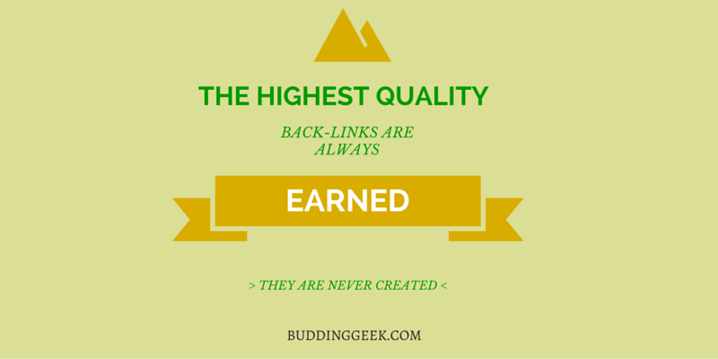 Earn Quality Backlinks