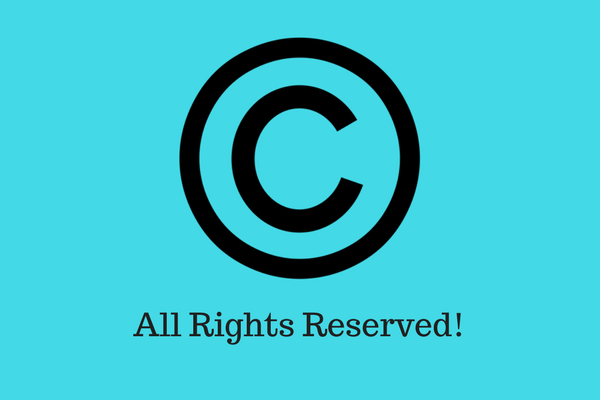Copyright notice - Blog