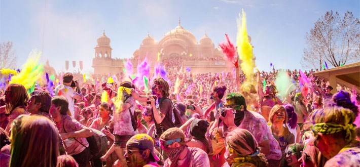 Fifty thousands US Residents Celebrate Holi in Utah