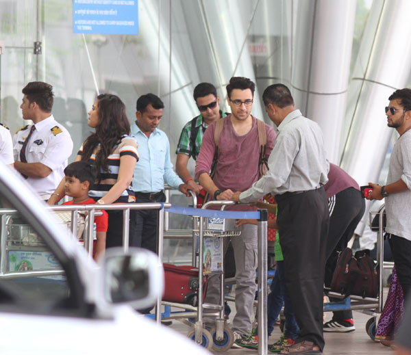 Imran Khan and Kangana Ranaut in Ahmedabad for shoot of Katti Batti
