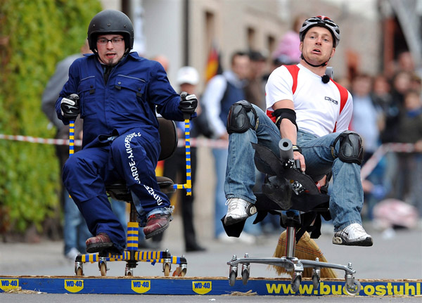Office Chair Race Germany 5 Adventures You Must Go On Before You Die!