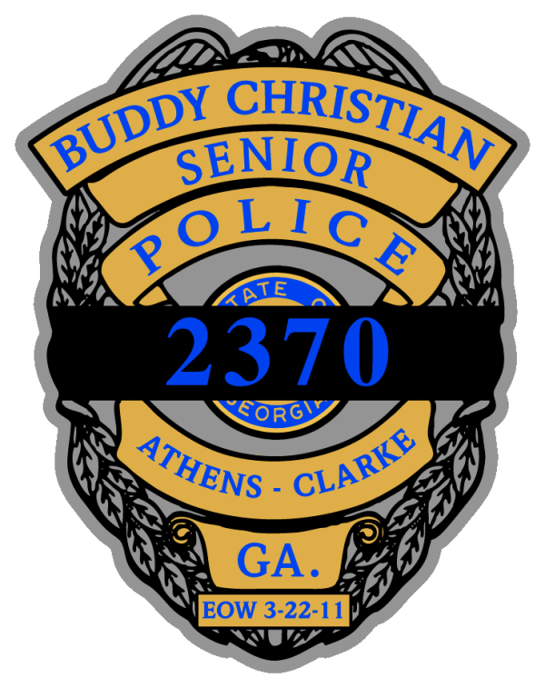 Buddy Christian Sticker