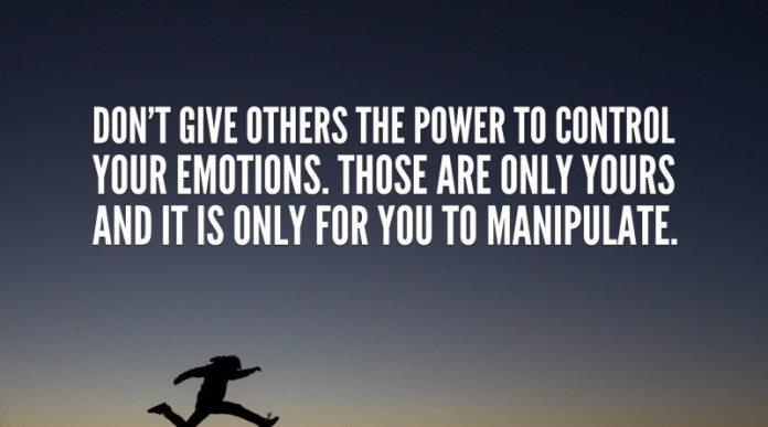 Emotions, Enslavers of emotions
