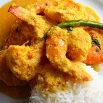 chingri malao curry