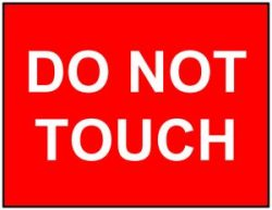 do-not-touch