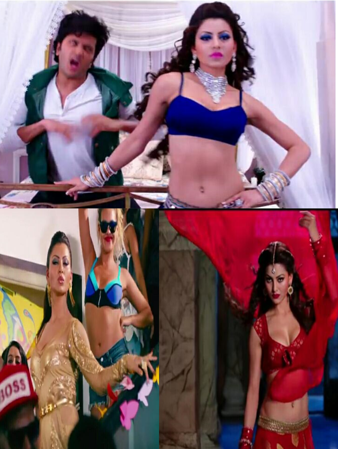 Top five dazzling songs of Urvashi Rautela!