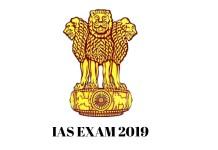 IAS EXAM 2019