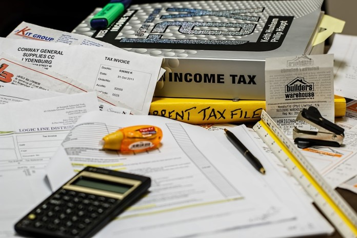 income tax refund form