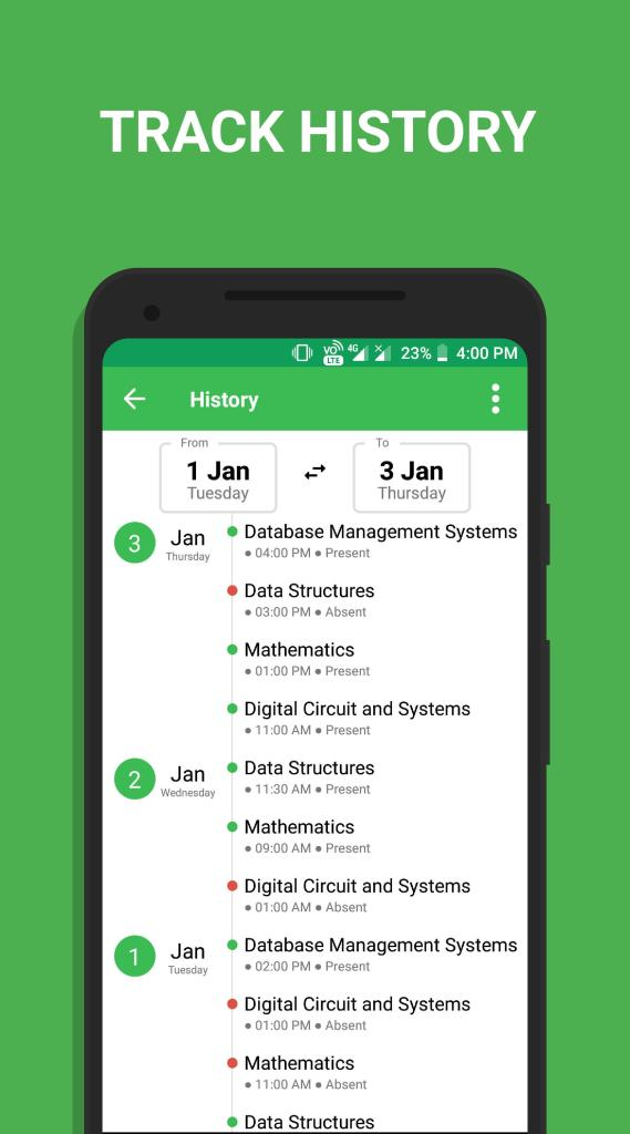 Attendance Manager App