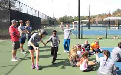 Buddy Up Athletes Enjoy Eventful Day With Florida Women's Team