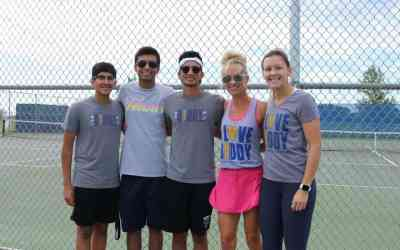 'Serving 4 Buddy Up Tennis' Tournament Showcases Athlete and Buddy Magic