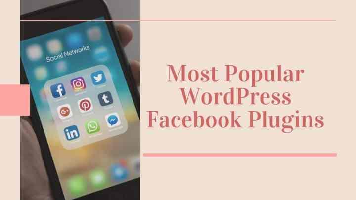 WordPress Facebook Plugins