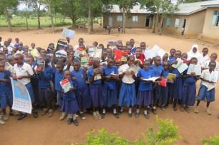 Dzieci ze szkoły Makore