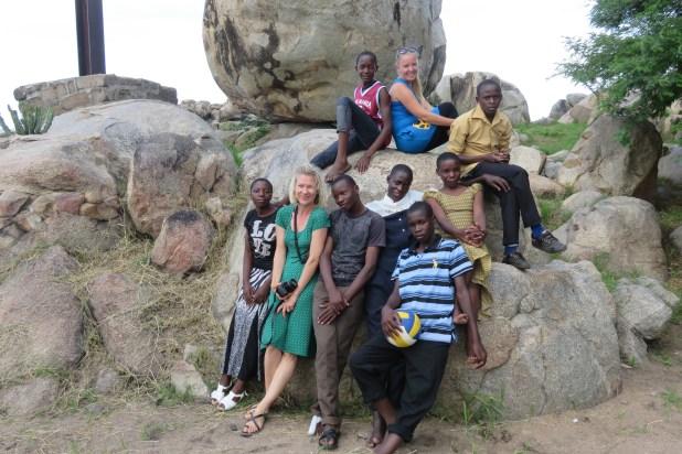 Musoma, wycieczka z młodzieżą