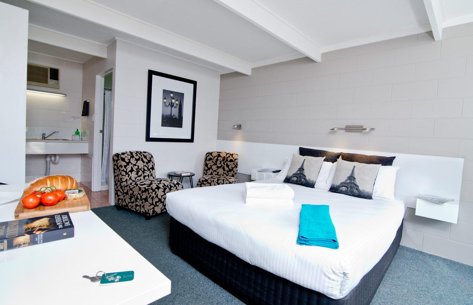 Buderim Fiesta Motel double standard room
