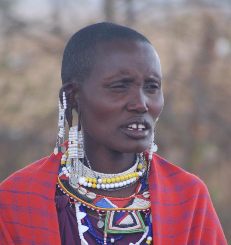 Masai women in Engaruka