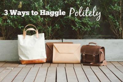 3 Ways to Haggle Politely
